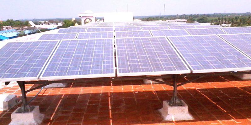 RVS College, Kancheepuram; Capacity – 100 KW